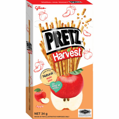 Glico Pretz Harvest Red Apple