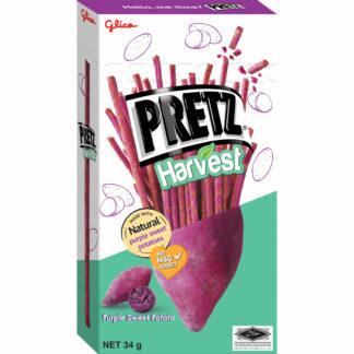 Glico Pretz Harvest Purple Sweet Potato